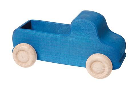 grimms blå lastbil