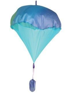 faldskærm sarah's silke parachute blå