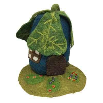 dukkehus filt egetræsblade