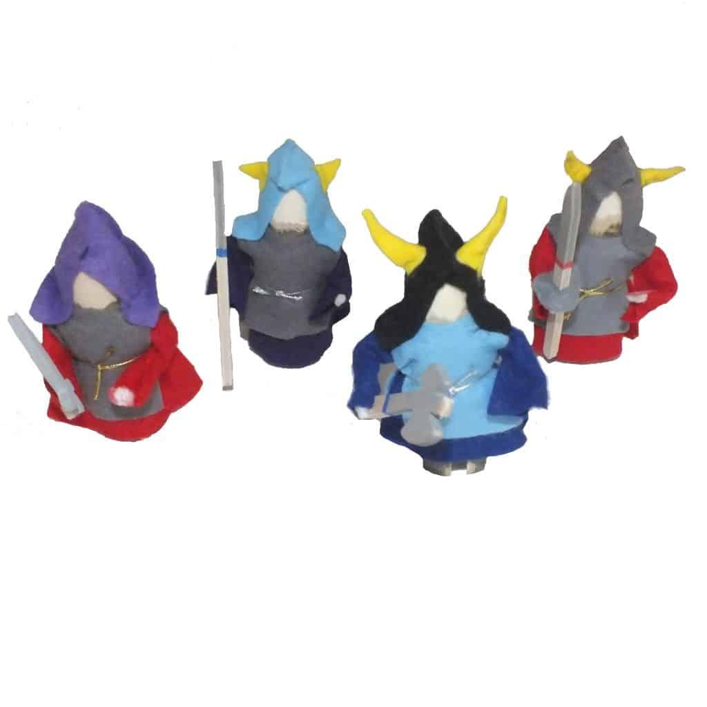 vikingefigurer