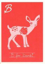 B for bambi