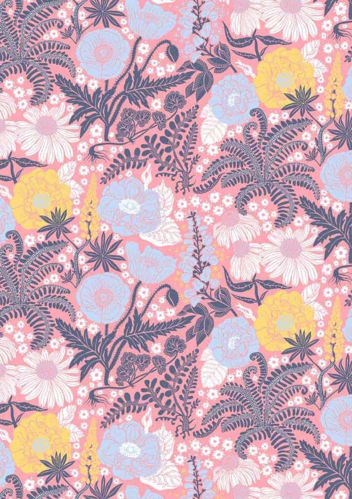 Blomster - Lyserød
