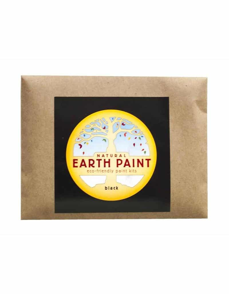 Earth Paint maling - sort