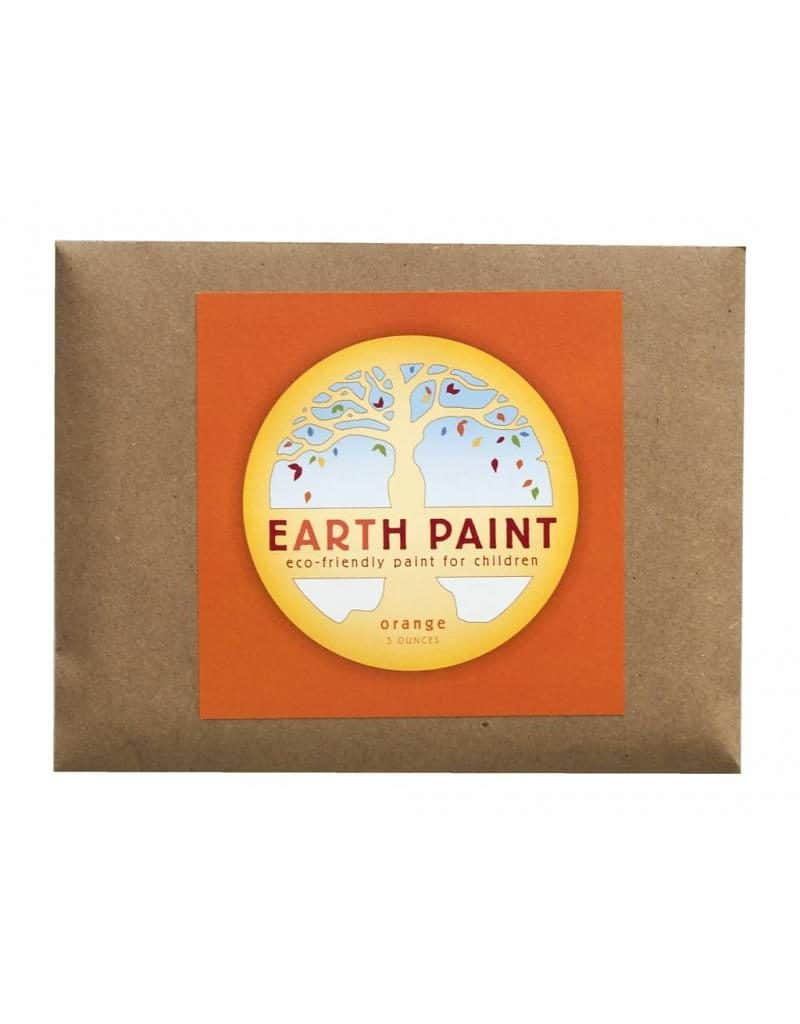 Earth Paint maling - orange