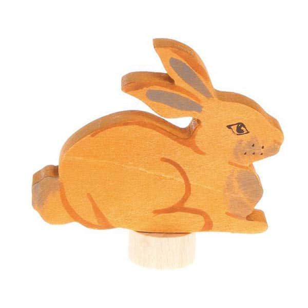 Dekorativ figur - Liggende hare