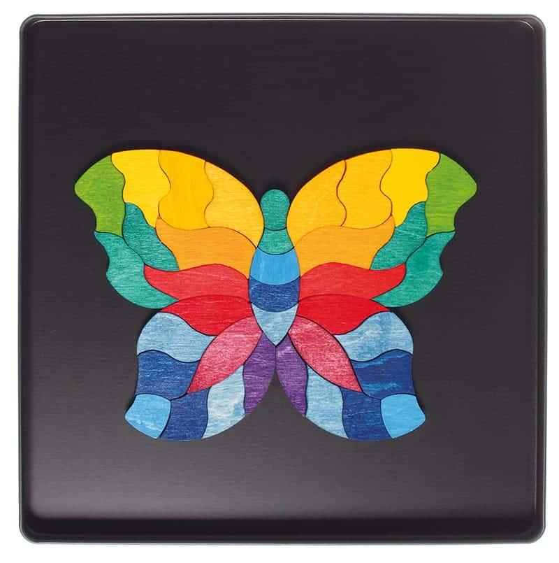 Magnetpuslespil - Sommerfugl